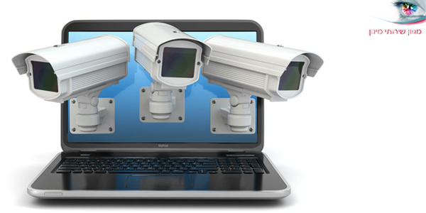 מצלמת אבטחה לצפייה מכל מכשיר טלפון או מחשב
